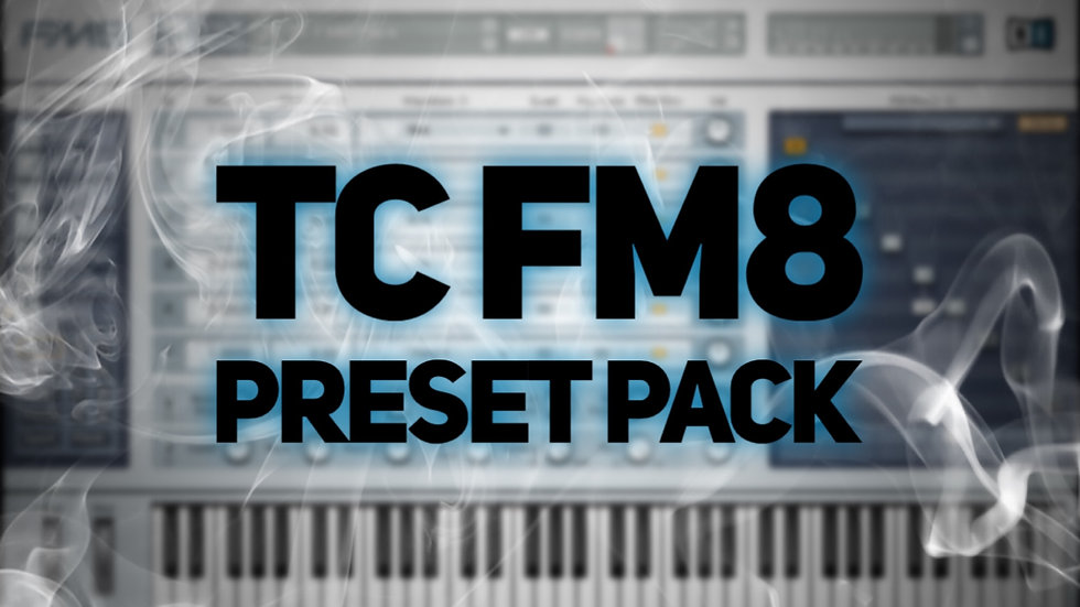 113 TC Native Instruments FM8 Patches