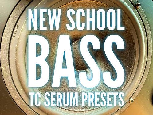 30 New School TC Serum Bass Presets