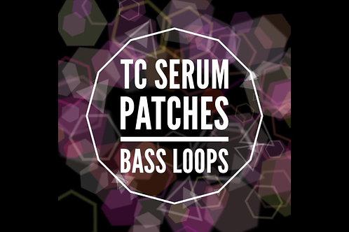 25 TC Serum Bass Loops