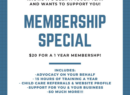 Don't Miss the 2020 Membership Special!