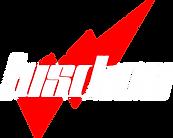Luschen-Schriftzug_roter Blitz_weisse Sc