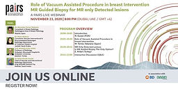 Role of Vacuum Assisted Procedure in breast Intervention MR Guided Biopsy for MR only Detected lesions