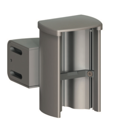 Side mounted reception profile & bracket