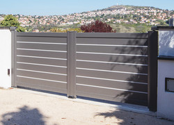 Orjal double gate