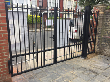 Le Juch Aluminium Traditional Gate