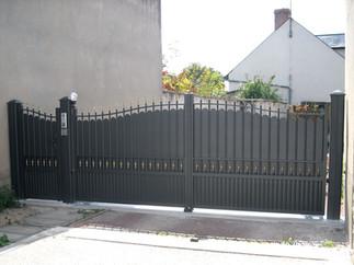 Rosnoen Aluminium traditional gate