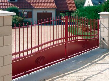 ELLIANT Aluminium Traditional Gate