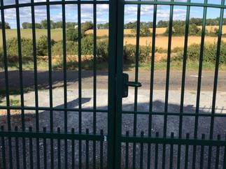 Plomelin Tradional Gate