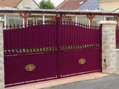Plouguerneau Aluminium Traditional Gate