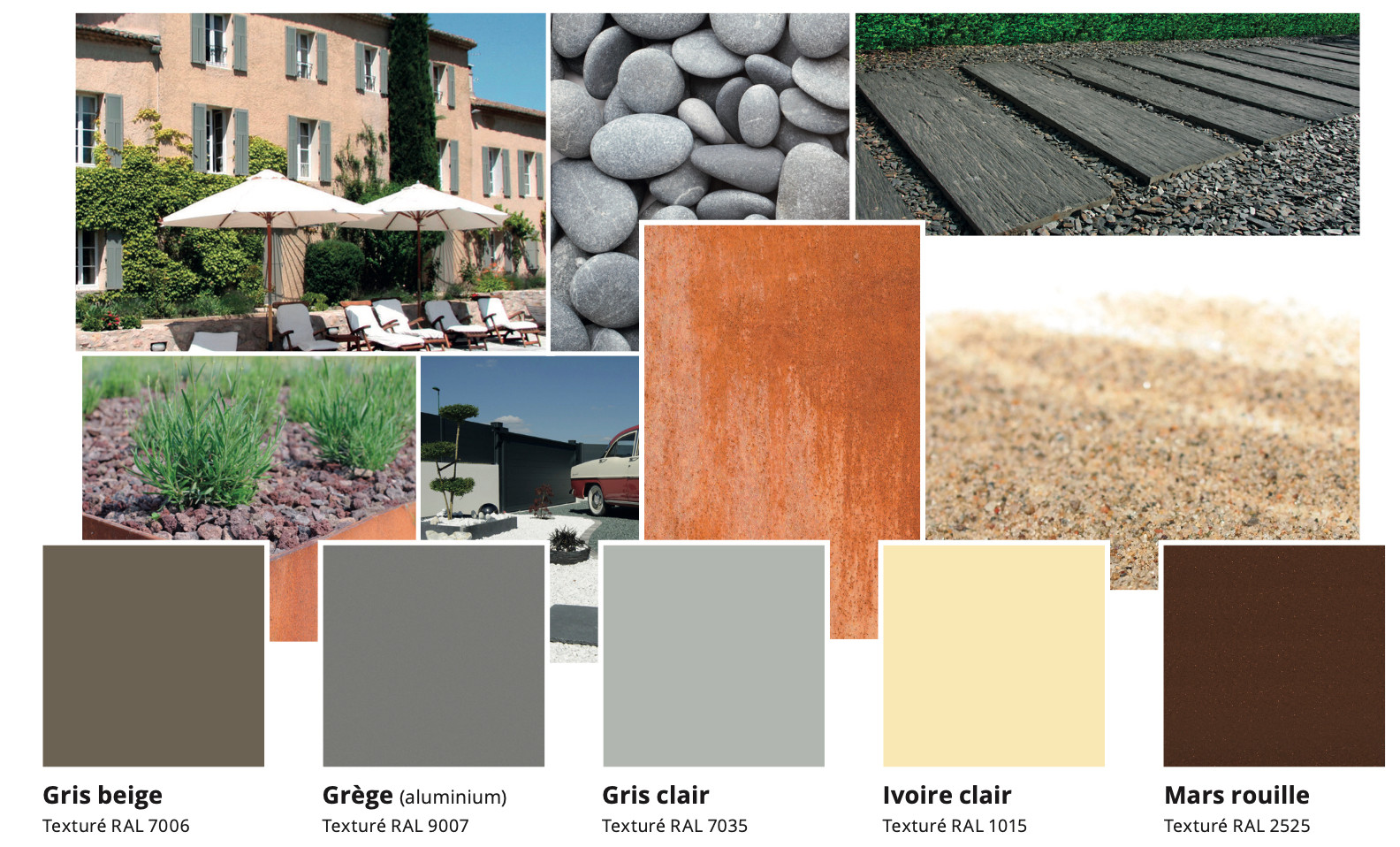 Factory Standard Colours