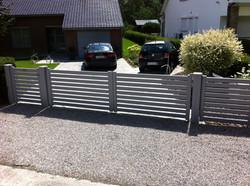 Raz Aluminium Gate