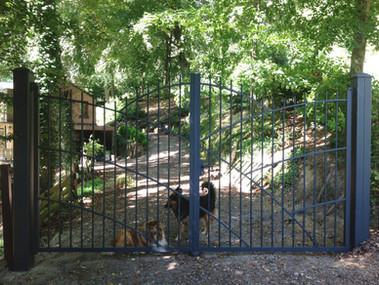 LANNILIS Aluminium Traditional Gate