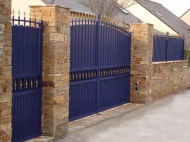 Confort Aluminium Traditional Gate