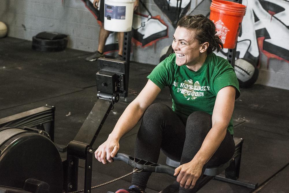 Meg Rowing
