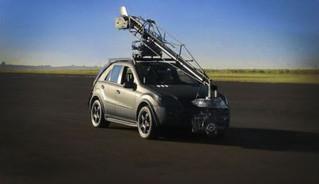 Mercedes Benz Camera Car