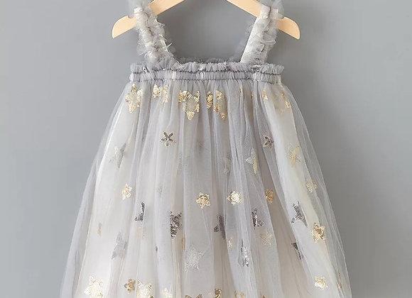 Star dress (grey or white)
