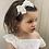 Thumbnail: Lace bow headband
