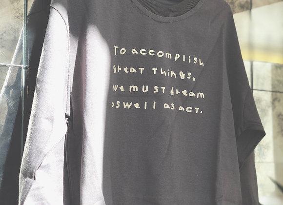 'Accomplish' sweater