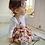 Thumbnail: Rose garden pinafore dress