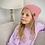 Thumbnail: Beanie (pink/beige/grey/rust)