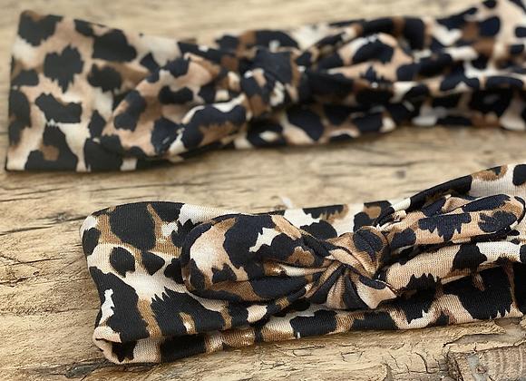 Mumma & me leopard headbands (set)