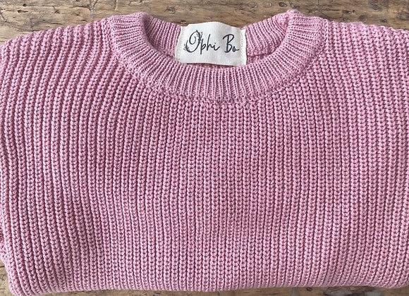 Chunky knit ROSE