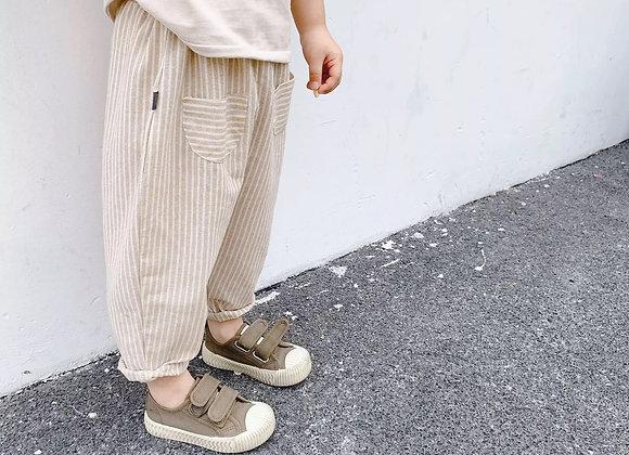 Linen lounge trousers