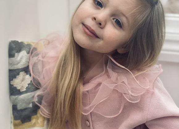 Cecily cardigan (blush or powder)
