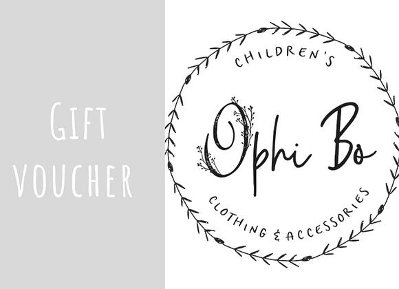 Gift voucher (£10 increments)