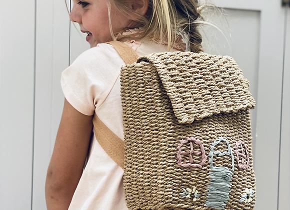 Rosebud cottage backpack