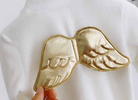 Angel wing sleepsuit