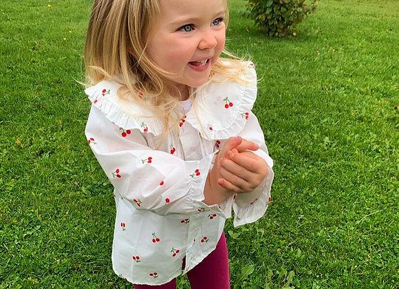 Cherry pie blouse