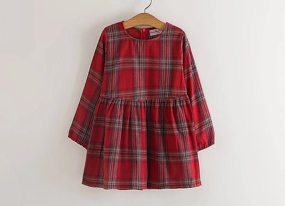 Ivy tartan dress