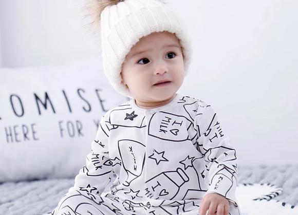 Milk sleepsuit