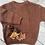 Thumbnail: Chunky knit CHESTNUT