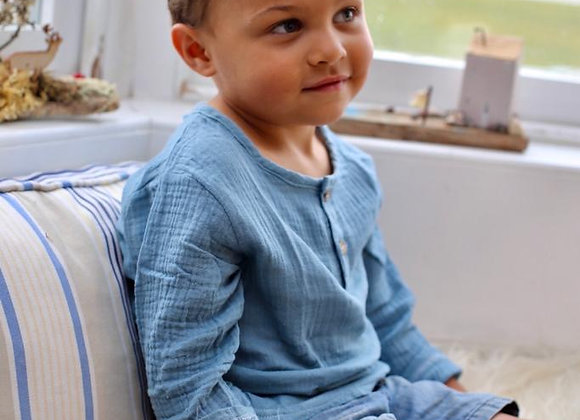 Boys muslin shirt