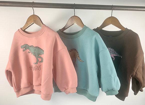Dinosaur sweaters