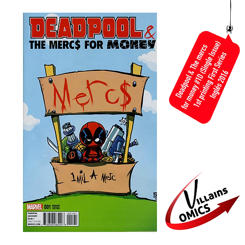 Deadpool & The Mercs for Money #1D (Single Issue)
