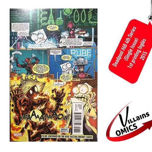 Deadpool #6 4th series (Single Issue)