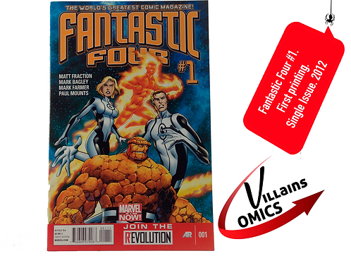 Fantastic Four #1 Marvel NOW!