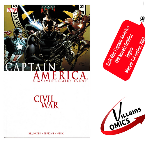 Civil War Captain America (TPB)