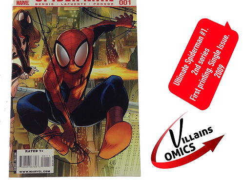 Ultimate Spider-man #1 2nd series