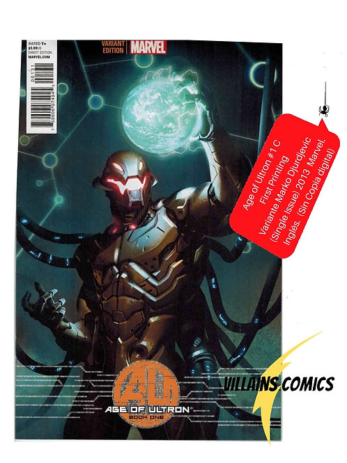 Age of Ultron #1C (Marko Djurdjevic Variant)