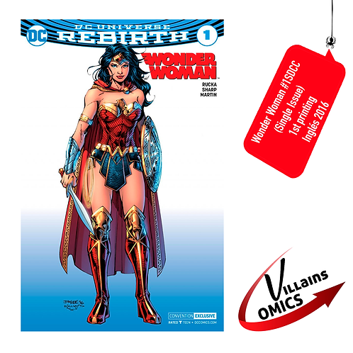 Wonder Woman #1 SDCC Exclusive