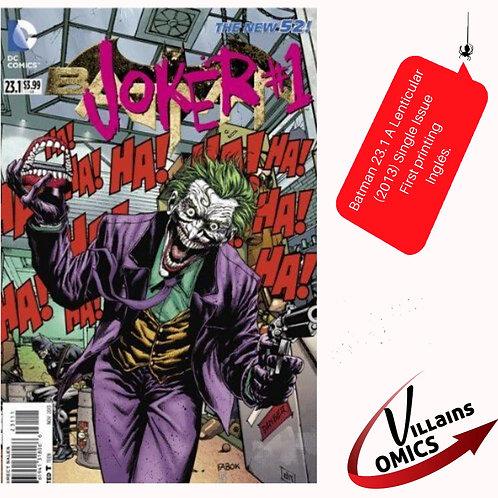 Batman #23.1 lenticular