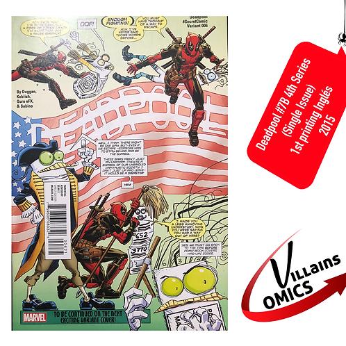 Deadpool #7 4th series (Single Issue)