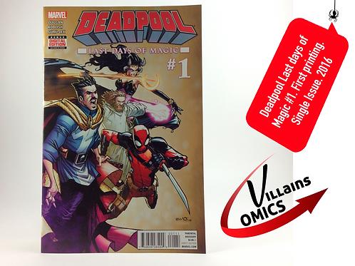 Deadpool Last days of magic #1