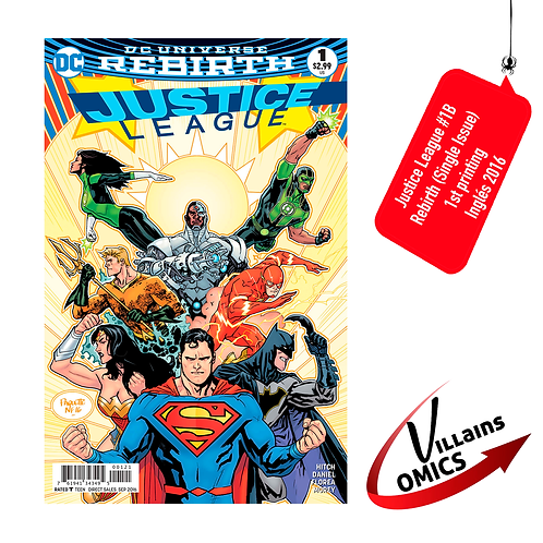 Justice League #1B Rebirth (Single Issue)