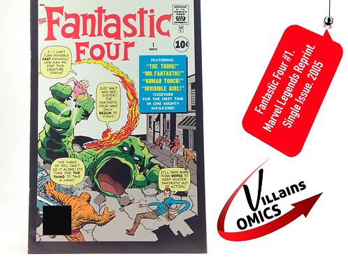 Fantastic Four #1 Marvel Legends Reprint