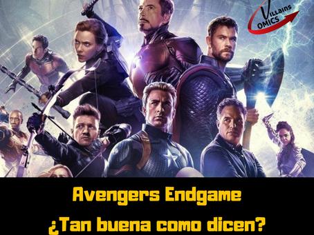 Avengers Endgame ¿tan buena como dicen?